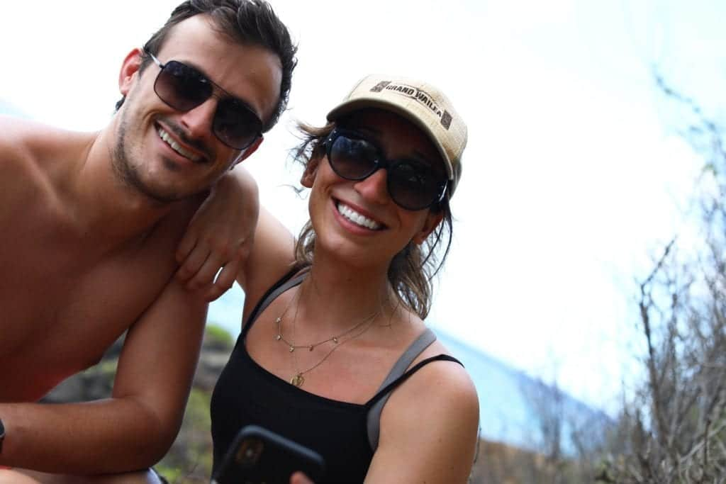 Hawaii hiking picture