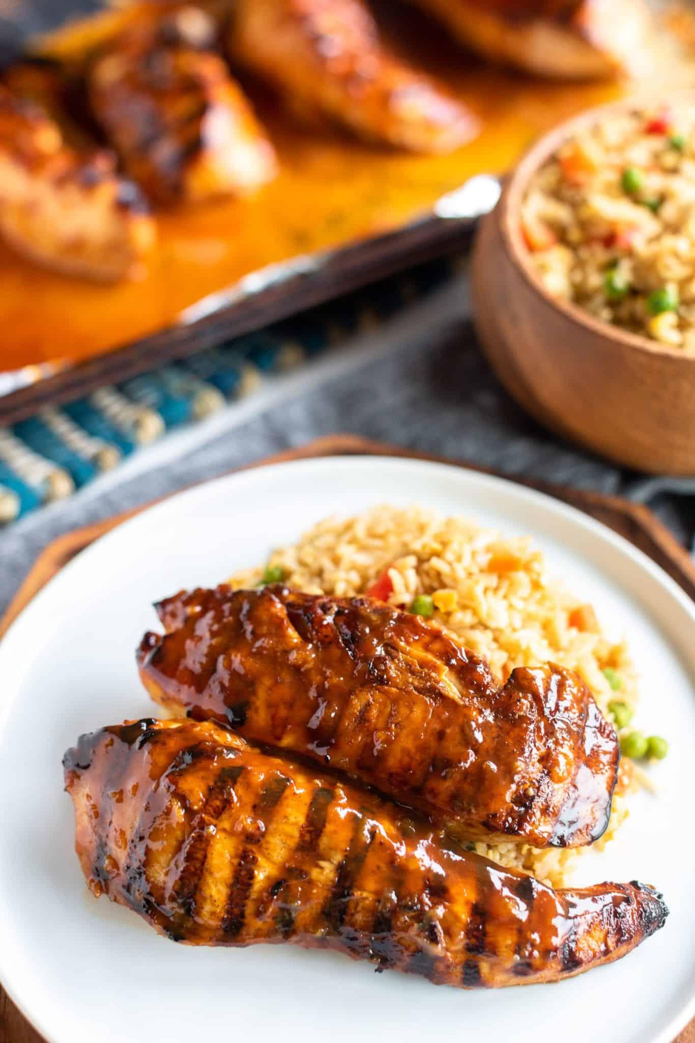 Huli Huli Hawaiian Chicken & Fried Rice
