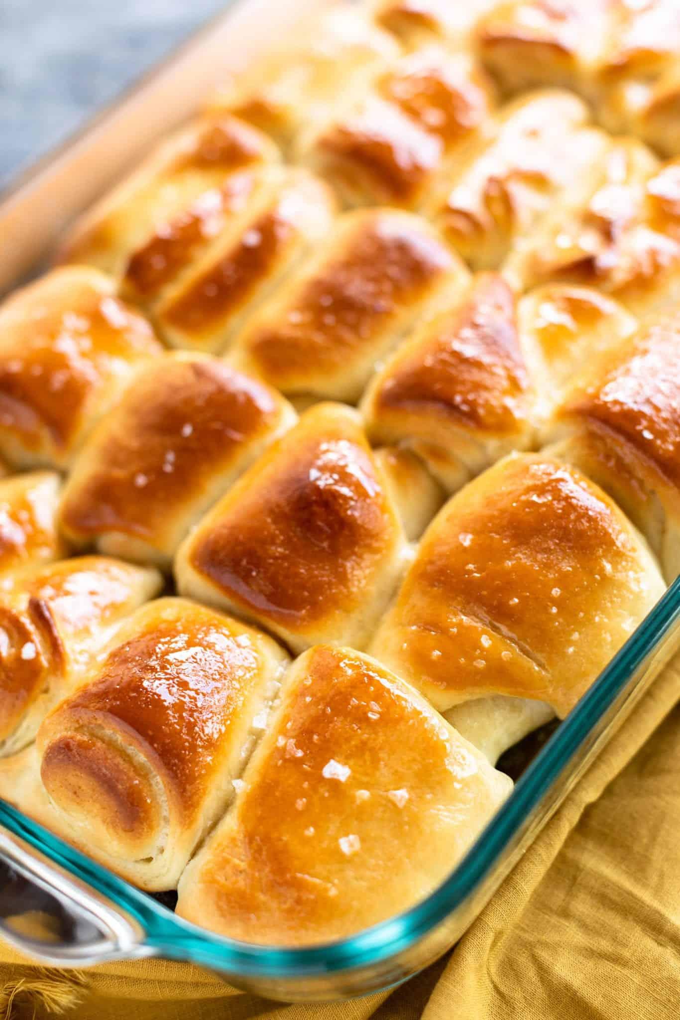 Salted Honey Butter Rolls