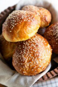 Potato Brioche Burger Buns